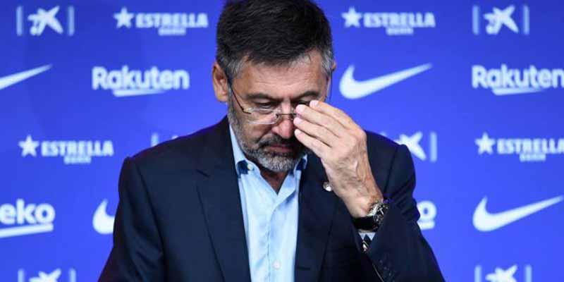 Terremoto en el FC Barcelona: Josep Maria Bartomeu, detenido por el caso 'Barça Gate'