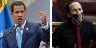 """Juan Guaidó a Pablo Iglesias: """"No alzar la voz contra los asesinatos y torturas es ser cómplice"""""""