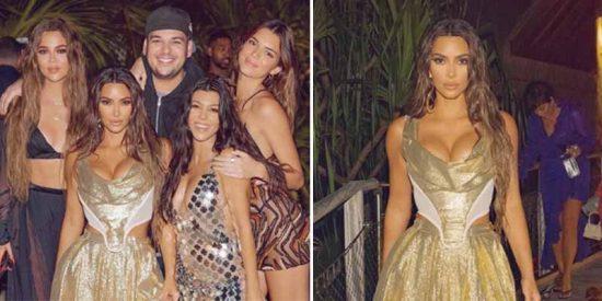 Protocolo Kardashian: Tests, avión privado y una isla exclusiva para celebrar el cumpleaños de Kim