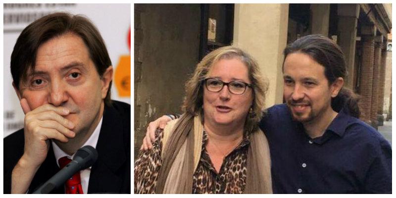 """Losantos, sobre la denuncia de una exsenadora de Podemos: """"Aquí está claro que están usando a la gente para lavar dinero"""""""
