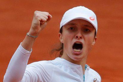 Iga Swiatek, la polaca campeona en Roland Garros que soñaba con Nadal