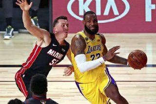 El show de LeBron en las Finales de la NBA: Victoria, clavada salvaje y tres nuevos récords