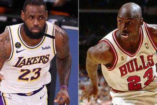 """LeBron James zanja la discusión sobre quién es mejor entre él y Jordan: """"No hay nada que debatir"""""""