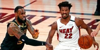Miami Heat supera a los Lakers de LeBron James y prolonga la lucha por el anillo de la NBA