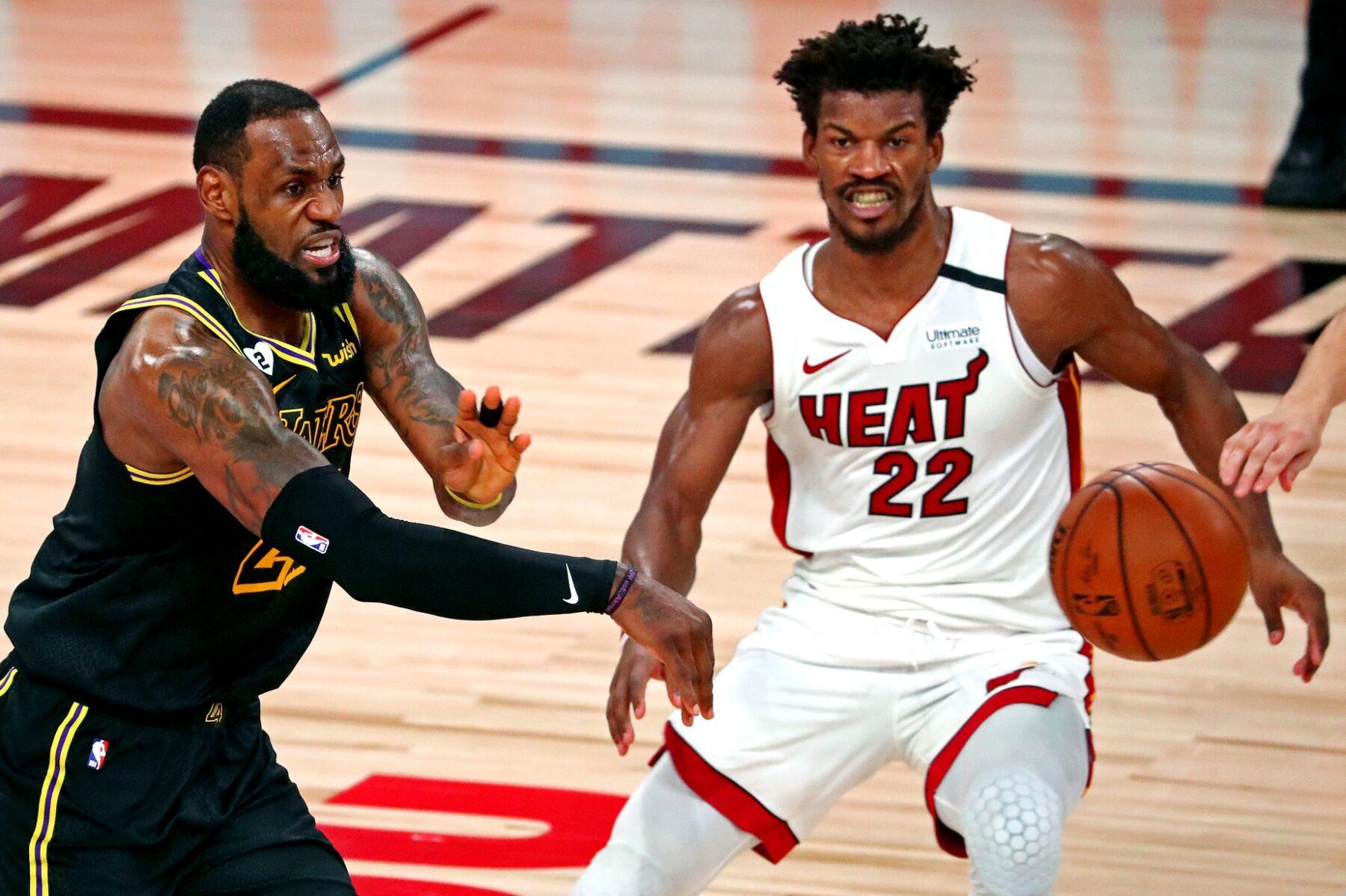 En un final electrizante, Miami Heat supera a los Lakers de LeBron James y prolonga la lucha por el anillo de la NBA