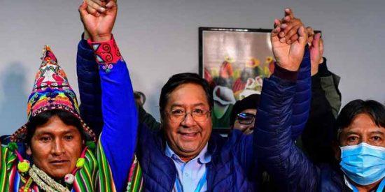 Luis Arce, el candidato del estuprador Evo Morales, nuevo presidente de Bolivia según el principal sondeo