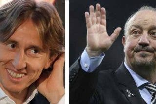 Modric se parte de risa recordando cuando Rafa Benítez le intentó dar lecciones de cómo golpear el balón