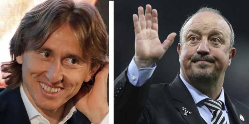Modric se parte de risa recordando cuando Rafa Benítez le intentó dar lecciones