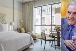 El lujoso hotel de Madrid que ofrece pasar una noche en el antiguo despacho de Mario Conde por 20.000 euros