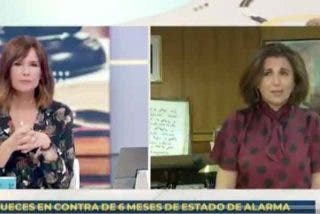 Una juez deja a Mónica López (TVE) para el desolladero por no saberse la Constitución