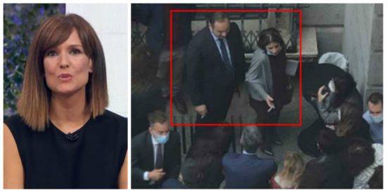 ¿Emitirá TVE las imágenes de Ábalos y Lastra fumando como carreteros en el patio del Congreso?