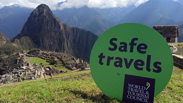 """Perú recibe en Machu Picchu el Sello """"Safe Travel's"""""""