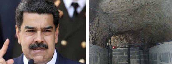 Los túneles secretos de Maduro: Las infraestructuras de la dictadura para esconderse en caso de guerra