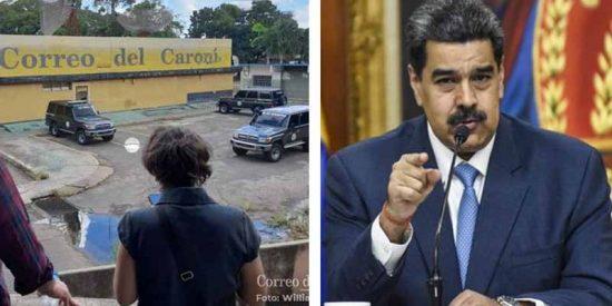 Mordaza chavista: La dictadura venezolana detiene a dos periodistas y allana la sede del periódico Correo del Caroní