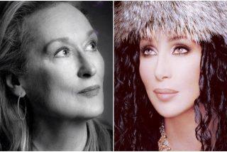 El día que Meryl Streep y Cher salvaron a una chica de ser violada: consiguieron que el agresor saliera corriendo