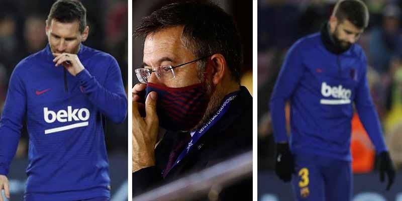 La doble traición de Piqué contra Messi al firmar la renovación con Bartomeu