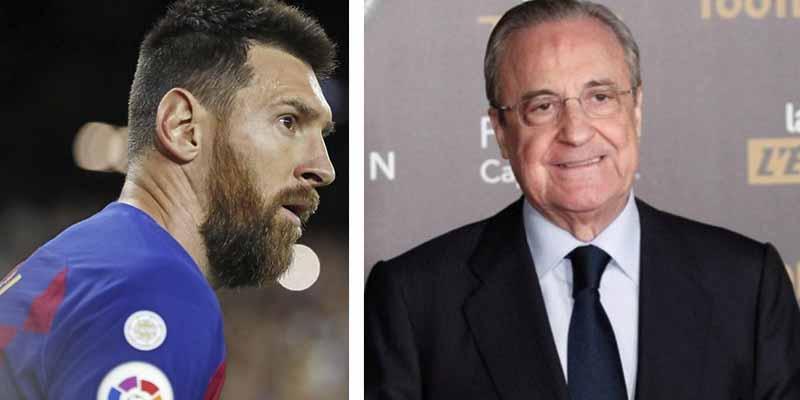 Desvelan la oferta multimillonaria que hizo Florentino Pérez para llevarse a Messi al Real Madrid