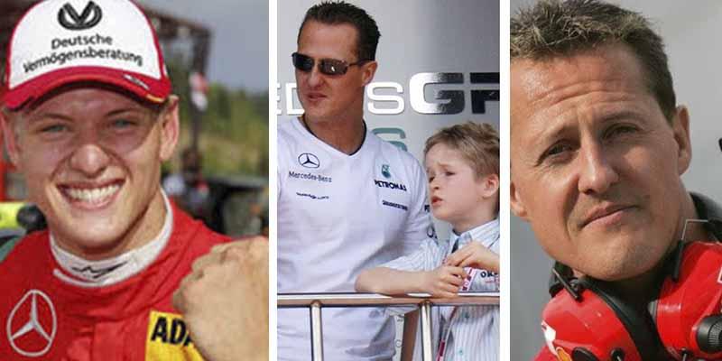 Se escondía bajo un seudónimo pero ha llegado la hora: el hijo de Schumacher, casi en Fórmula 1