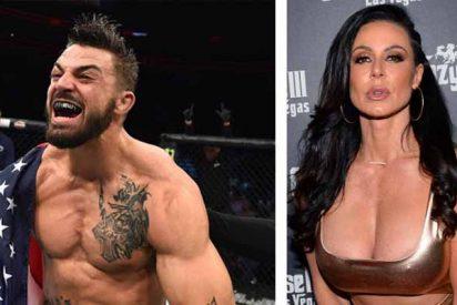 La actriz porno Kendra Lust ruboriza a un peleador de la UFC por su inusual propuesta