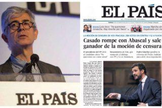 ¡Malas noticias para Pablo Casado! El País dedica portada y editorial triunfalista al líder del PP