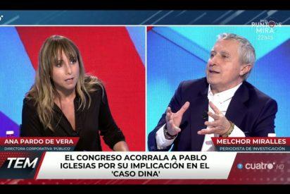 Ana Pardo de Vera pierde los papeles cuando cuestionan su neutralidad para dirigir RTVE