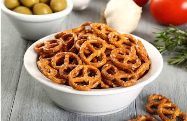 Receta de pretzels