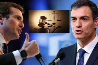 Pablo Casado reta a Pedro Sánchez ofreciéndole un pacto para despolitizar el CGPJ
