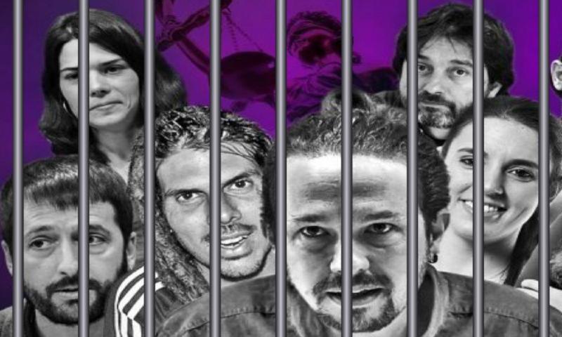 No sólo es Pablo Iglesias: casi la mitad de los dirigentes de Podemos ha tenido o tiene problemas con la Justicia