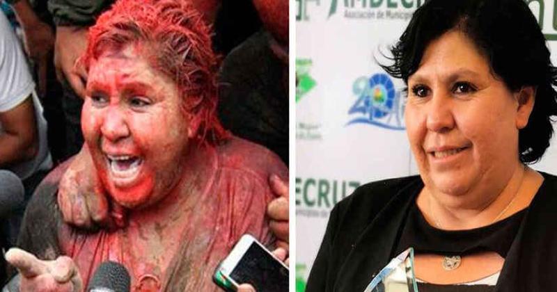 Esta política, que siendo alcaldesa con Evo Morales fue apaleada, rapada y vejada, ahora es senadora