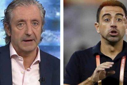"""Pedrerol 'fustiga' a Xavi en El Chiringuito: """"Koeman es ADN Barça, el otro se quedó en Catar"""""""