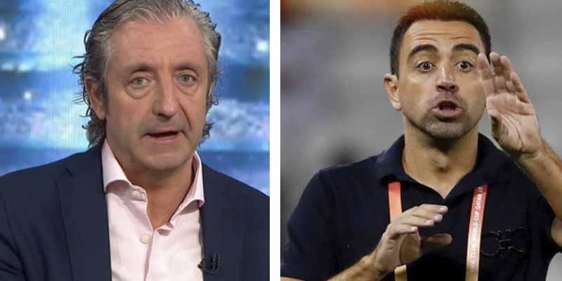 """Pedrerol 'fustiga' a Xavi en El Chiringuito: """"Koeman es ADN Barça, hizo el trabajo sucio, el otro se quedó en Catar"""""""