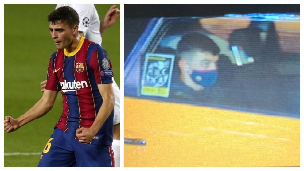 La humildad de Pedri cautiva a los fans: debut en Champions y a casa en Taxi