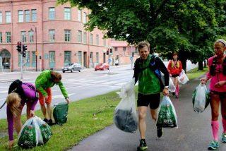 ¿Sabes que es el 'plopping'?: un deporte nuevo que consiste en correr y recoger basura