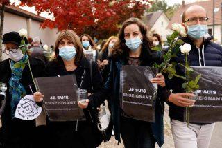 La Policía francesa arresta a 9 musulmanes por la decapitación del profesor que defendía la libertad de expresión con las caricaturas de Mahoma