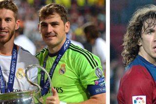 Sergio Ramos e Iker Casillas son nominados al mejor equipo de fútbol de la historia, Puyol se queda fuera