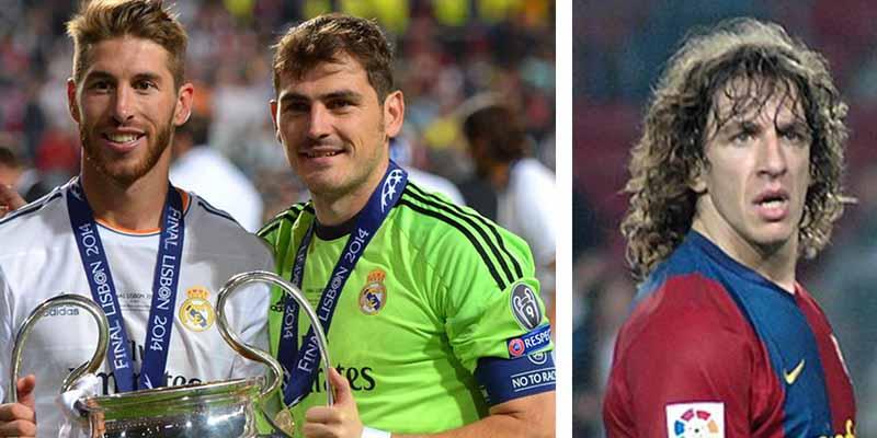Ramos y Casillas, nominados al mejor equipo de fútbol de la Historia