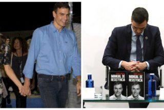 Escándalos de Sánchez: chollo de empleo para su mujer y un amigo, plagios de libro y viajes 'deluxe'