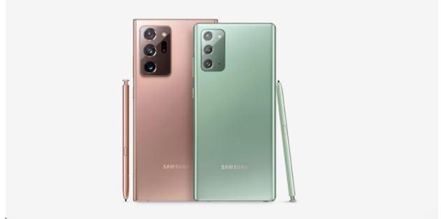Diferencias entre el Samsung Galaxy Note 20 y Note 20 Ultra