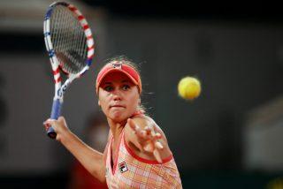 La exótica forma de sacar de Sofia Kenin, finalista en Roland Garros 2020, se hace viral