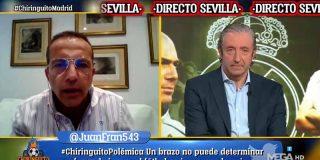Esperpento apoteósico: Soria Intenta humillar al Madrid y termina siendo víctima de las carcajadas de 'El Chiringuito'