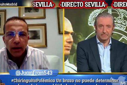 Soria Intenta humillar al Madrid y termina siendo víctima de las carcajadas de 'El Chiringuito'