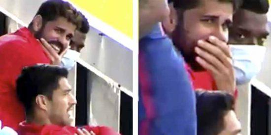 Diego Costa se olvida de su lesión gracias al troleo de Suárez a los jugadores del Celta