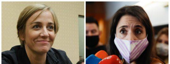 La ex de Pablo Iglesias apoya a Teresa Rodríguez y remata de lo lindo a Irene Montero