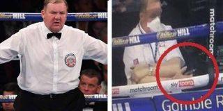 Escándalo en el boxeo: Tras un resultado ajustado, descubren que el juez estuvo distraído con el móvil