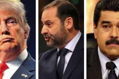 'Delcygate': Un amigo de Ábalos acompañó al ministro de Maduro en secreto con un alto cargo de Trump
