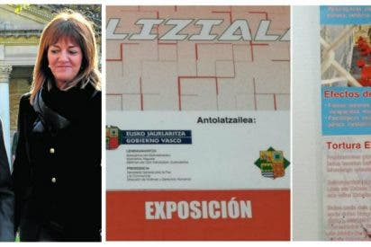 El PSOE respalda el insulto de Urkullu a las víctimas de ETA al financiar la muestra de 'torturas' policiales