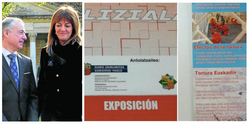 El PSOE respalda el nuevo escupitajo de Urkullu a las víctimas de ETA al financiar una muestra sobre 'torturas' policiales