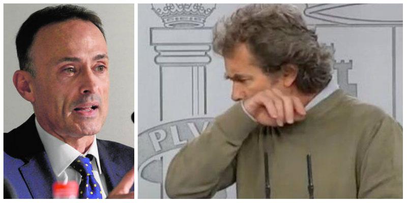 """Luis Ventoso reduce a astillas al """"Pinocho"""" Simón de un certero hachazo"""