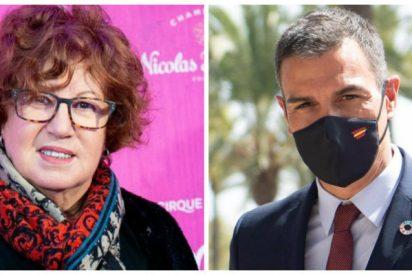 Rosa Villacastín ejerce de palmera mayor de Pedro Sánchez y el troleo que recibe en Twitter es sublime