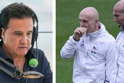 """De la Morena, en las entrañas del Real Madrid: """"Los jugadores discuten con el segundo entrenador y creen que Zidane quiere marcharse"""""""